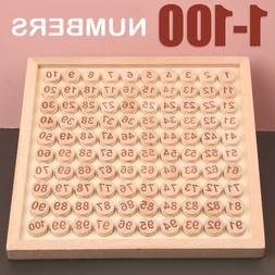 Wooden Alphabet & Number Puzzle For Toddlers Board Early Lea