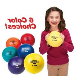 S&S Worldwide S&S Worldwide Gator Skin Softi Ball-Red - Sing