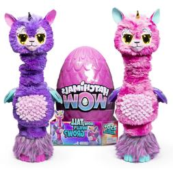 wow llalacorn 32 in tall interactive hatchimal