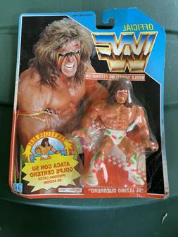 """Wwf Hasbro 1991 The Ultimate Warrior 4"""" White Short Action F"""